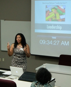 Dr. Carmen April Speaking