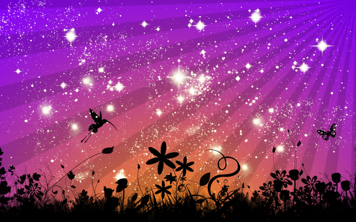 Why are the stars shining
