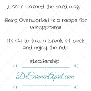 Recipe for Unhappiness