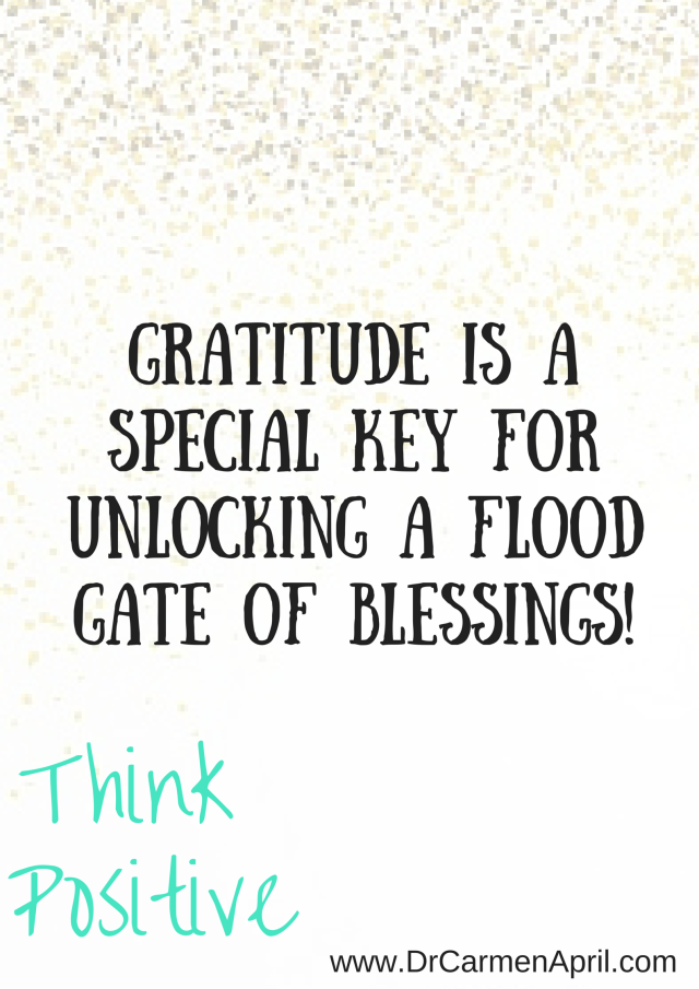 Gratitude Unlocks Blessings