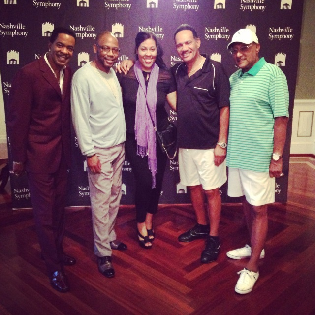 Dr. Carmen with The Four Tops