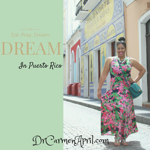 Dr Carmen April Pray Dream