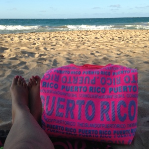 Toes in Sand Puerto Rico