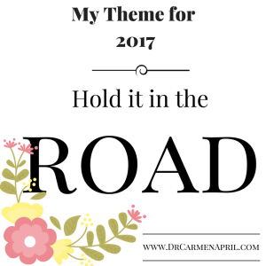 hold it in the road