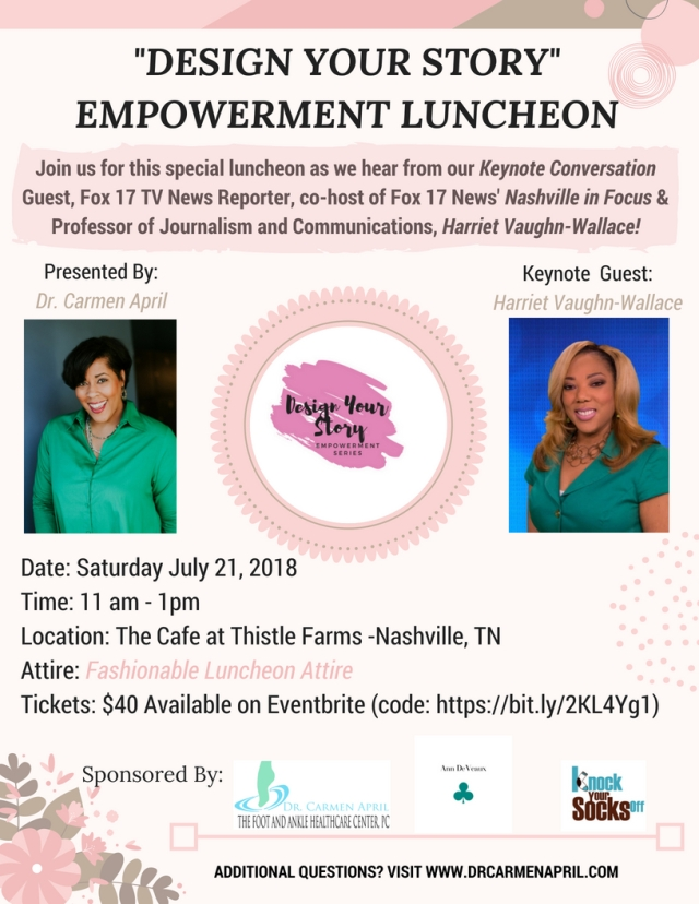 Design Your Story Women's Empowerment Luncheon